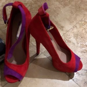 Shoes - Colorful high heels